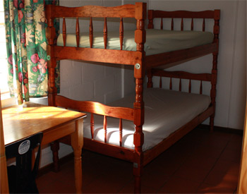 Bunkstyle bedroom (Sleeps 6) R330.00 per person