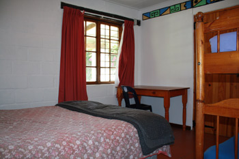 Double with bunk bed (Sleeps 4) R330.00 per person